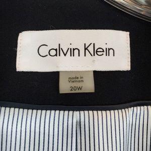 Calvin Klein Jackets & Coats - Calvin Klein navy double button blazer (687)